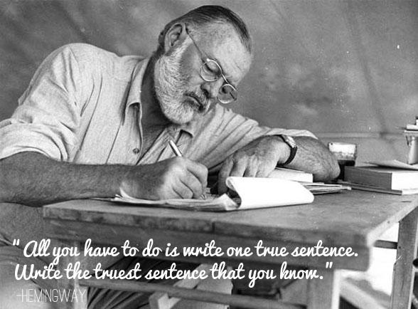 Hemingway Write