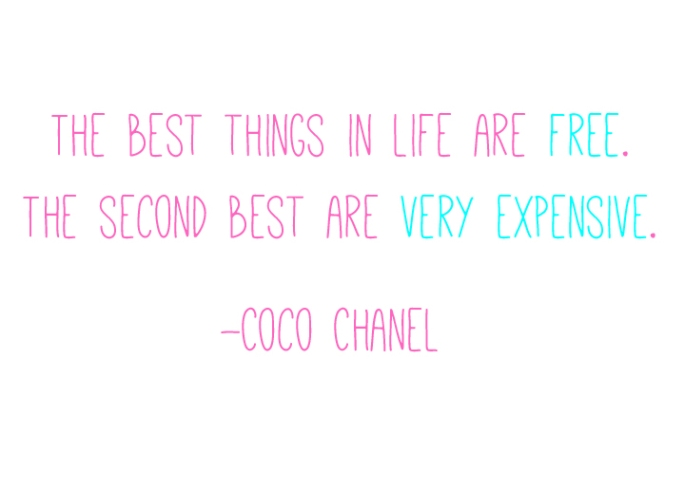 Chanel The Best Things