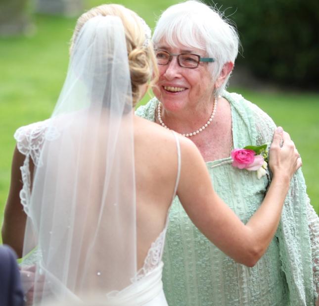 grandma and me wedding